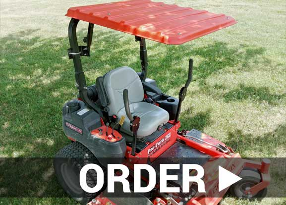 Shop for mower and tractor canopies by SunGuard USA