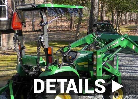 Details about mower and tractor canopies by SunGuard USA