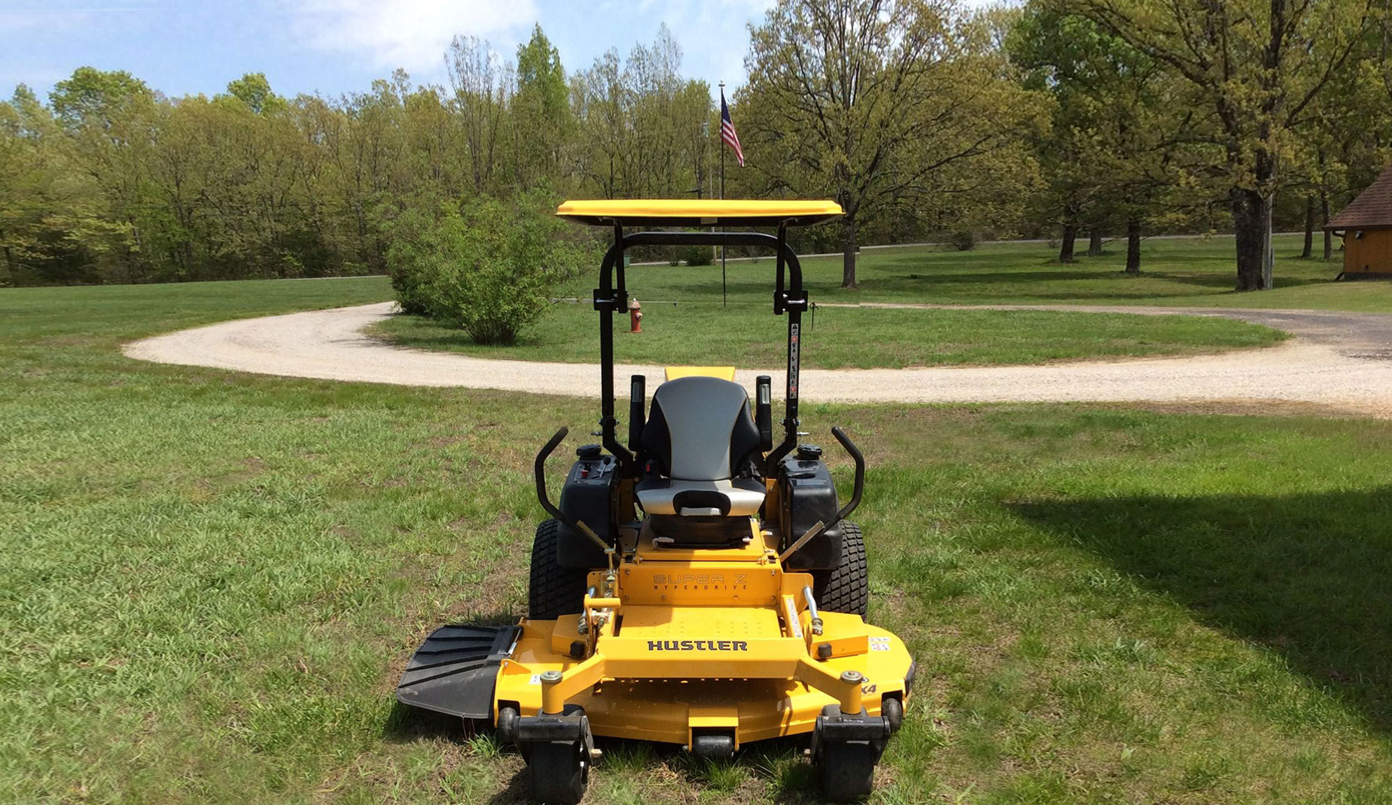 Tractor canopies and mower canopies  by SunGuard USA fit  all sizes of tractors and mowers.